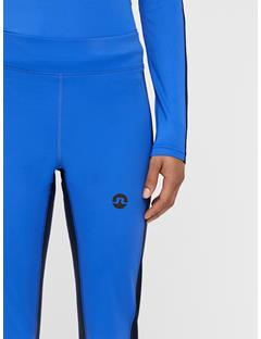 Womens Elah Compression Leggings Daz Blue
