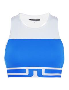Womens Vena Compression Sports Bra Top Daz Blue