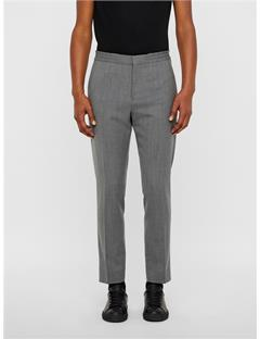 Mens Sasha Quadrat Drawstring Pants Stone Grey
