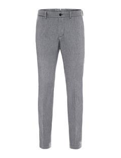 Mens Grant Flannel Twill Pants Grey Melange
