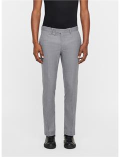 Mens Grant Micro Structure Pants Stone Grey