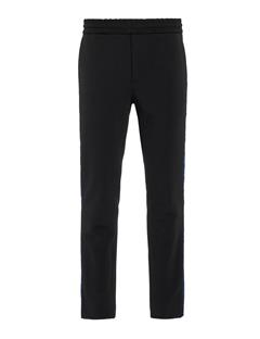 Mens Sasha Jersey Twill Drawstring Pants Black