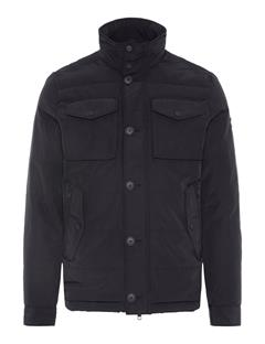 Mens Bailey Structured Jacket Black