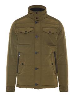 Mens Bailey Structured Jacket Dark Green