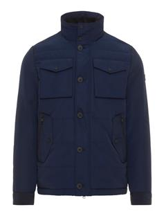 Mens Bailey Structured Jacket JL Navy