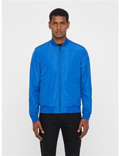 Mens Thom Gravity Bomber Jacket Pop Blue