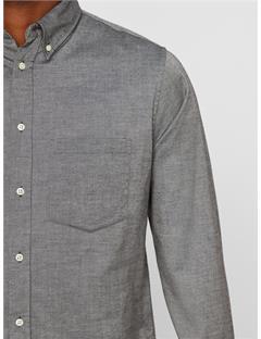 Daniel Stretch Oxford Shirt Dk Grey