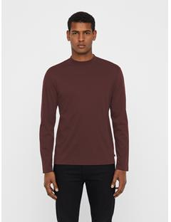 Mens Lany Smooth Jersey T-shirt Zinfandel