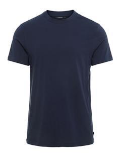 Mens Silo Pima Jersey T-shirt JL Navy