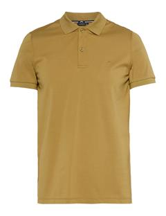 Mens Troy Clean Pique Polo Olive