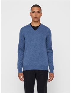 Lymann True Merino Sweater Blue Melange