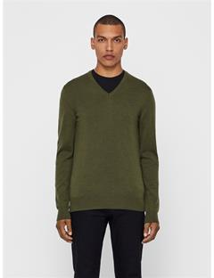 Lymann True Merino Sweater Green Melange