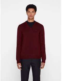 Mens Lymann True Merino Sweater Zinfandel