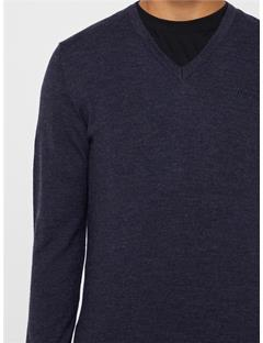 Lymann True Merino Sweater Anthracite Mel