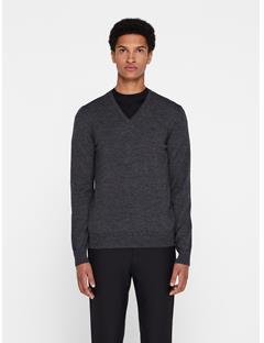 Mens Lymann True Merino Sweater Black Mouline