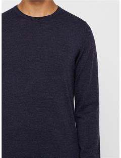 Lyle True Merino Sweater Anthracite Mel