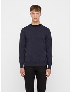 Mens Lyle True Merino Sweater Anthracite Mel