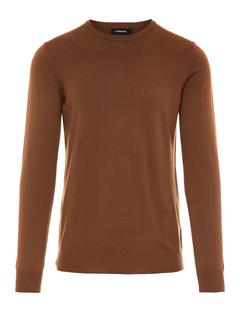 Mens Lyle True Merino Sweater Bison