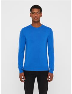 Lyle True Merino Sweater Pop Blue