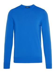 Mens Lyle True Merino Sweater Pop Blue