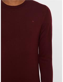 Lyle True Merino Sweater Zinfandel