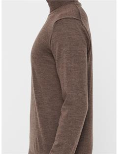 Lyd True Merino Turtleneck Sweater Bison