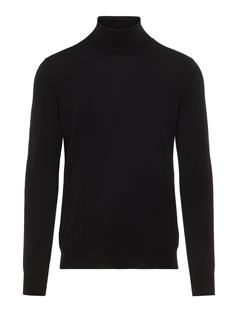 Mens Lyd True Merino Turtleneck Sweater Black