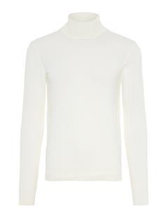 Mens Lyd True Merino Turtleneck Sweater Off White