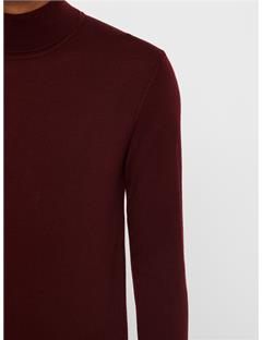 Lyd True Merino Turtleneck Sweater Zinfandel