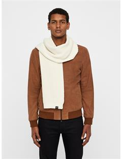 Mens Arn Winter Knit Scarf Cloud Dancer