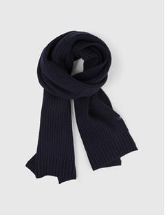 Mens Arn Winter Knit Scarf JL Navy