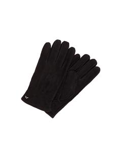 Mens Nolo Suede Gloves Black