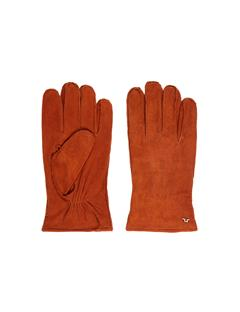 Mens Nolo Suede Gloves Cognac