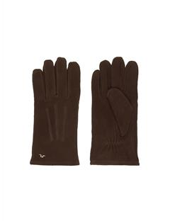 Mens Nolo Suede Gloves DK Brown