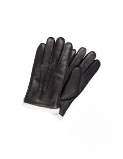 Mens Sofo Deer Skin Gloves Black