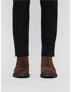 Suede Chelsea Boots DK Brown