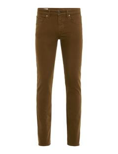 Mens Jay Solid Stretch Jeans Dark Olive