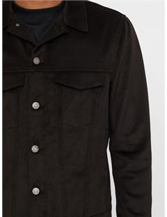 Max Twol Denim Jacket Black