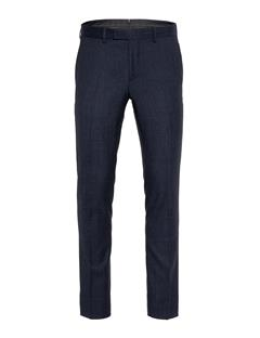 Mens Grant Fancy Wool Pants Mid Blue