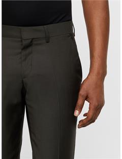 Paulie Comfort Wool Pants Dark Green