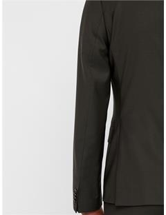 Hopper Soft Comfort Wool Blazer Dark Green
