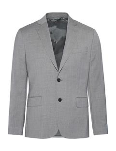 Mens Hopper Soft Comfort Wool Blazer Lt Grey Melange
