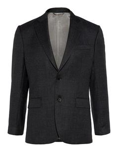 Mens Donnie Fancy Wool Blazer Black