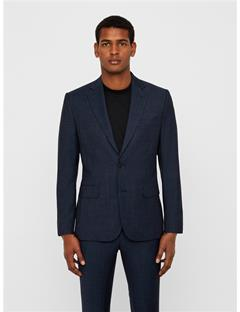 Mens Donnie Fancy Wool Blazer Mid Blue