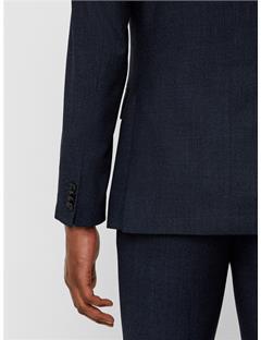 Donnie Fancy Wool Blazer Mid Blue