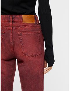 Womens Study OD Jeans Molten Lava