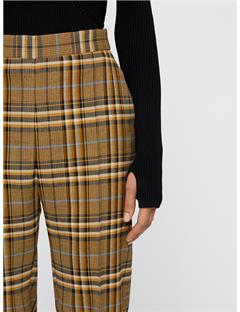Womens Mandalay Soft Check Pants Burro