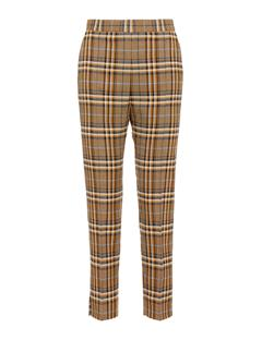 Womens Mandalay Soft Check Pants Burro