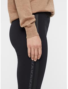 Womens Rikke Lux Jersey Leggings Black