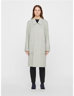 Kahlo Double Coat Lt Grey Mel